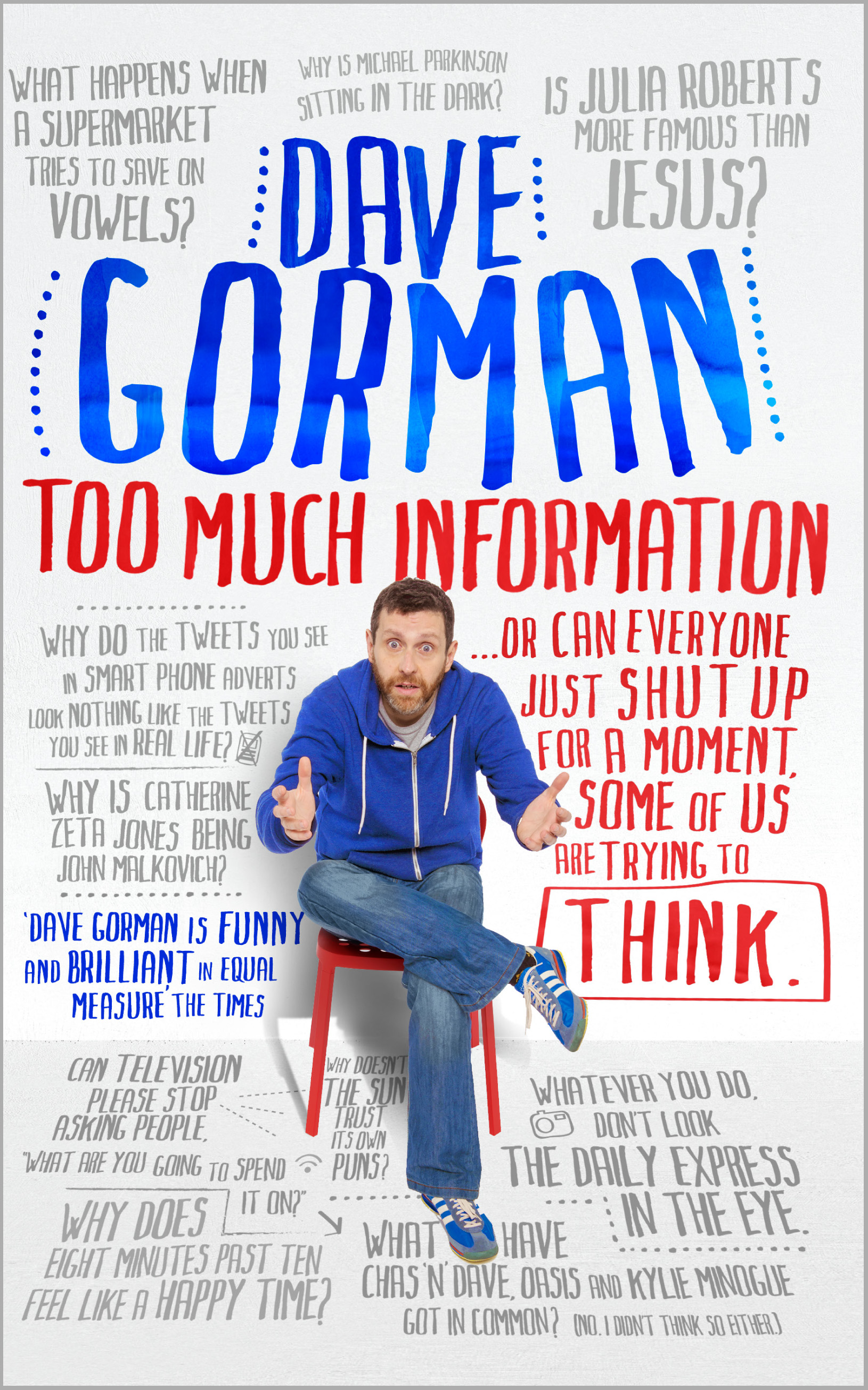 Too Much Information – By Dave Gorman